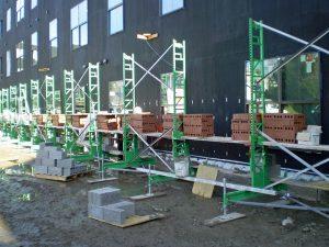 bricklayer scaffold system