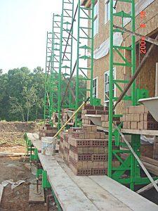 Bricklayer scaffold