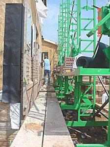 Mason scaffold