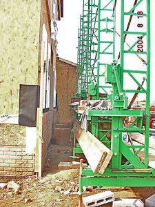 Masonry scaffolding