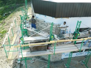 bricklaying+scaffolding