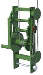 Non-Stop Heavy Duty scaffold winch