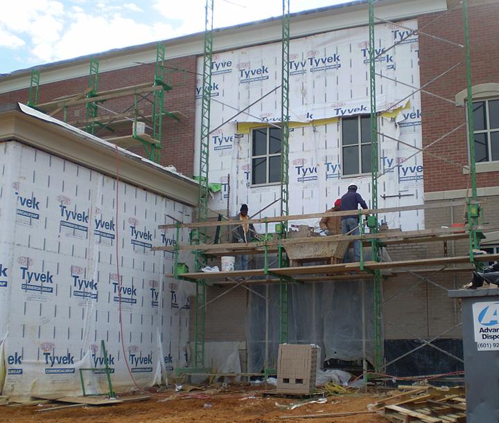 Non-Stop Standard Duty adjustable scaffolding