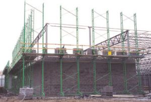Scaffolding for big box stores