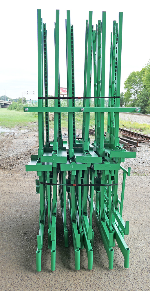 Workhorse elevated scaffolding is easy to transport