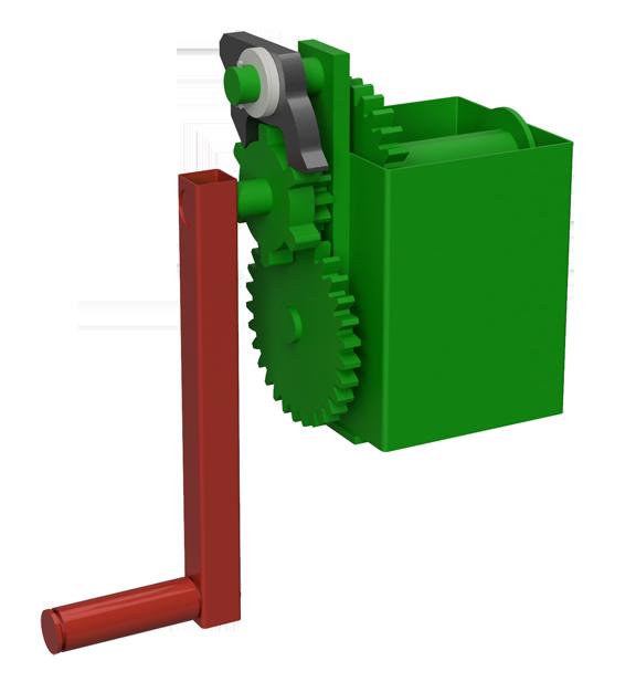 Standard-Duty scaffolding winch